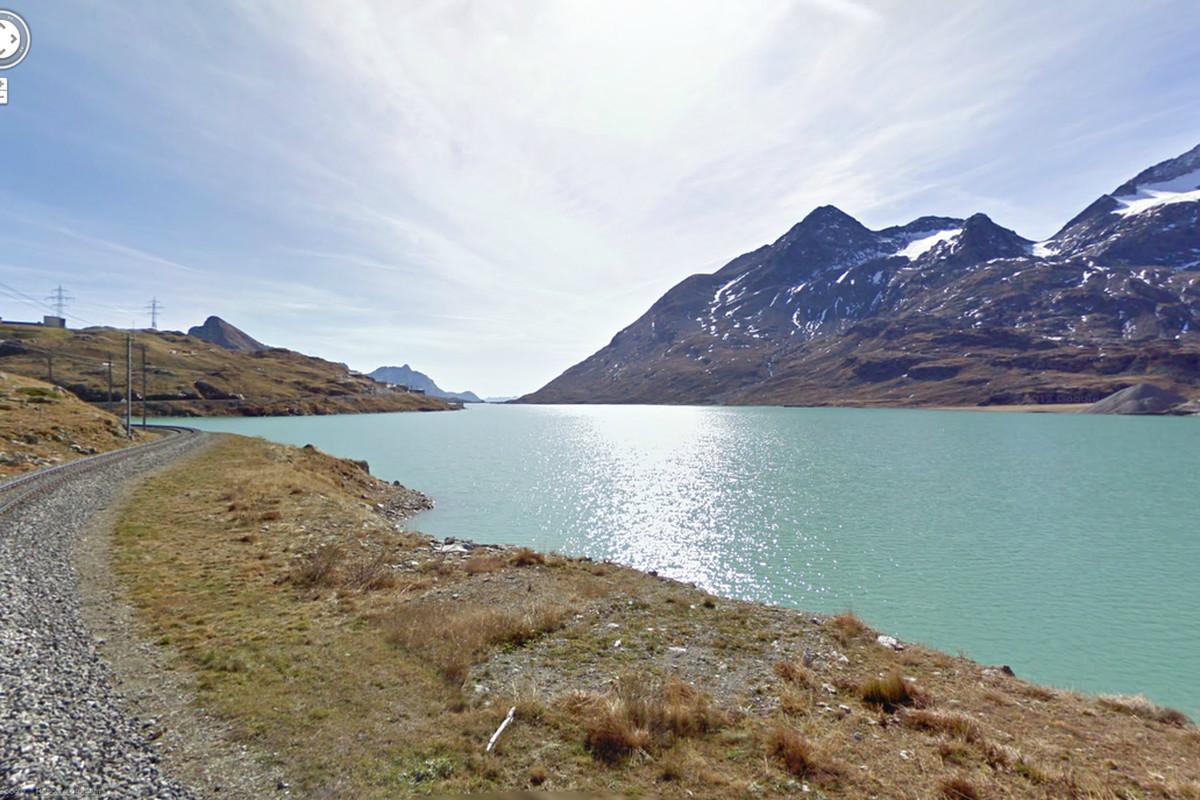 Google Street View Swiss Alps