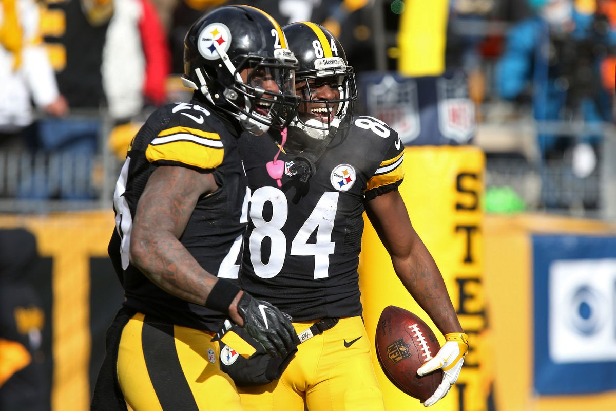 Antonio Brown tries to thwart Le Veon Bell s potential camp