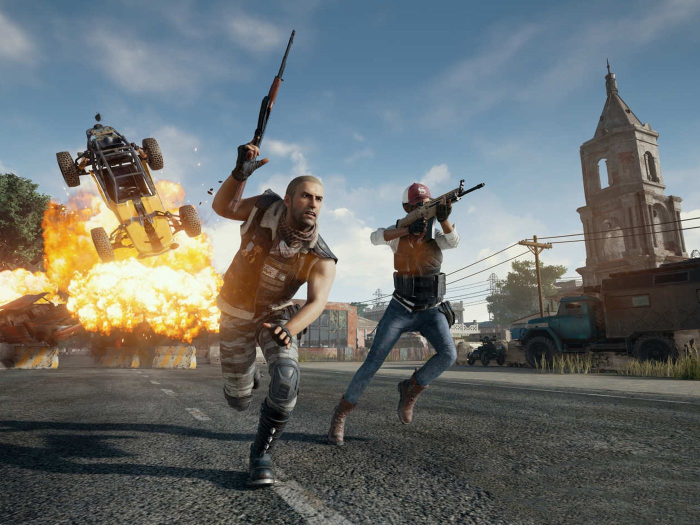 Pubg Drops Fortnite Copyright Lawsuit As The Battle Ends In A Draw The Verge