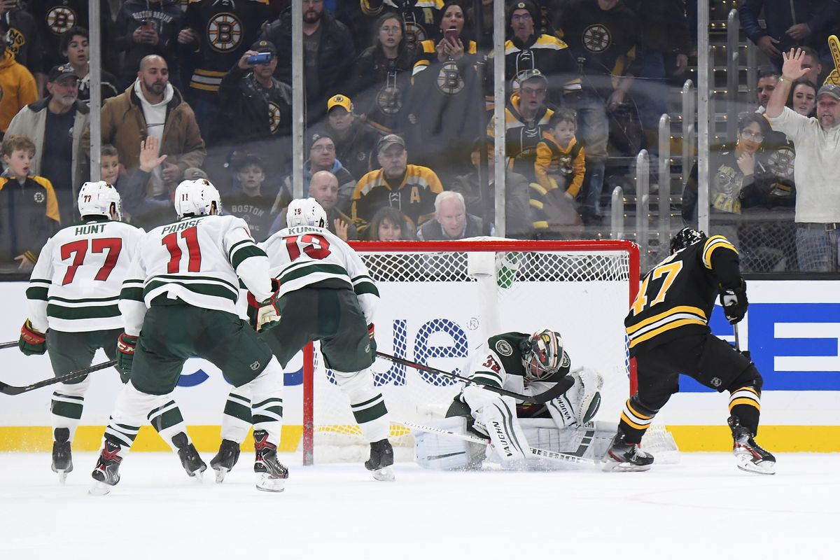Watch the Bruins score 3 times in 5 minutes to beat the ...Bruins Score