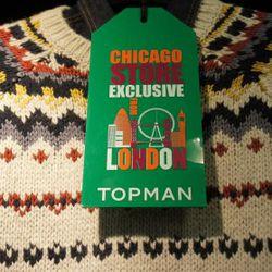 Topman Chicago Store Exclusive Sweater