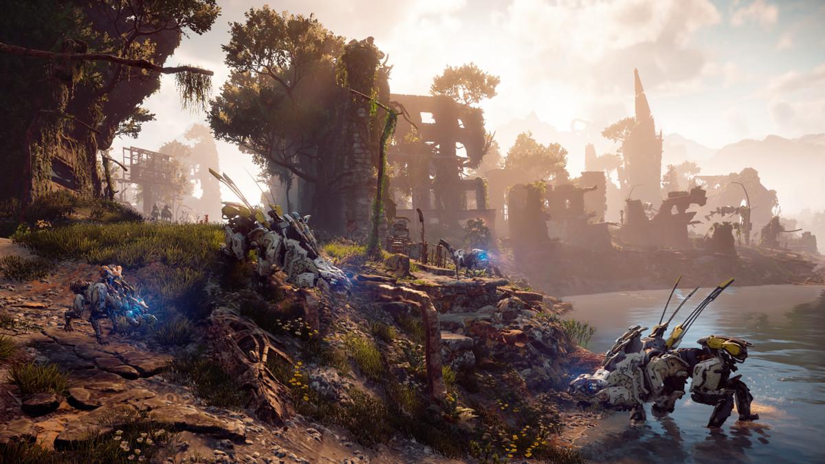 Horizon Zero Dawn: Game Scenes