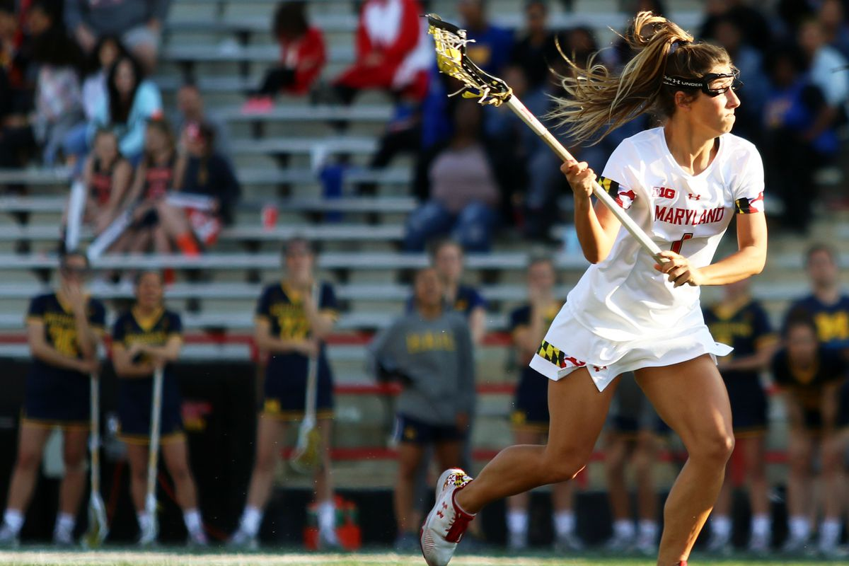 NCAA women's lacrosse tournament: Maryland pulls away from ...