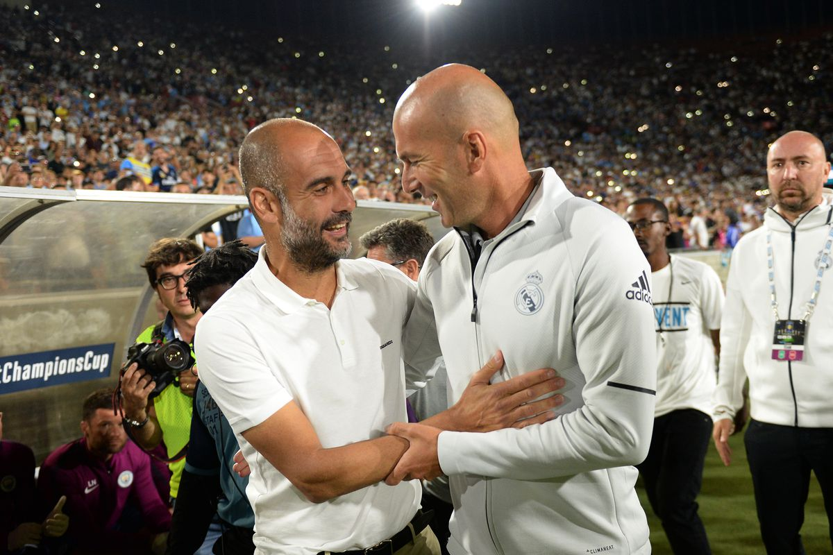 Zidane Guardiola Is The Best He S Proved It Time And Time Again