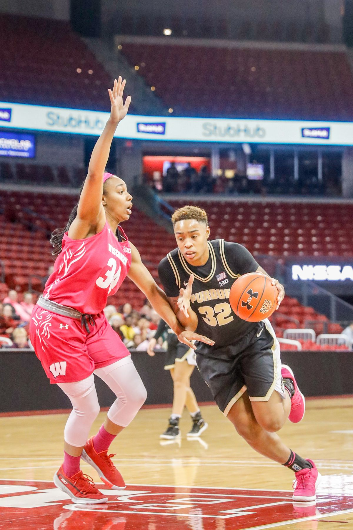 COLLEGE BASKETBALL: FEB 13 Women's Purdue at Wisconsin