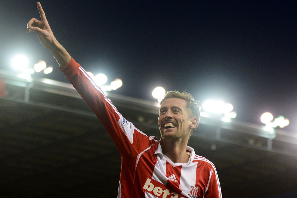 Will we see Crouch do the robot in Brazil this summer?