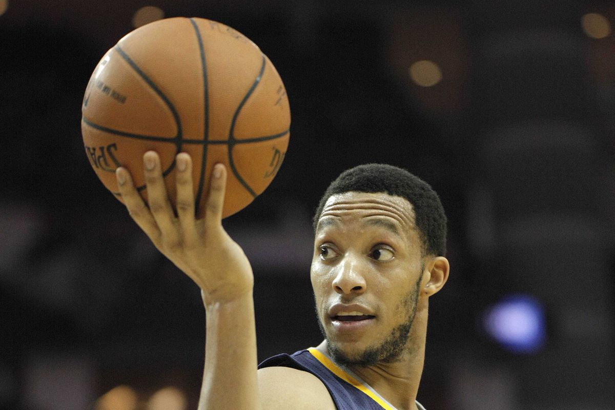 Evan Turner willingly giving the ball up? Is this Bizarro World?
