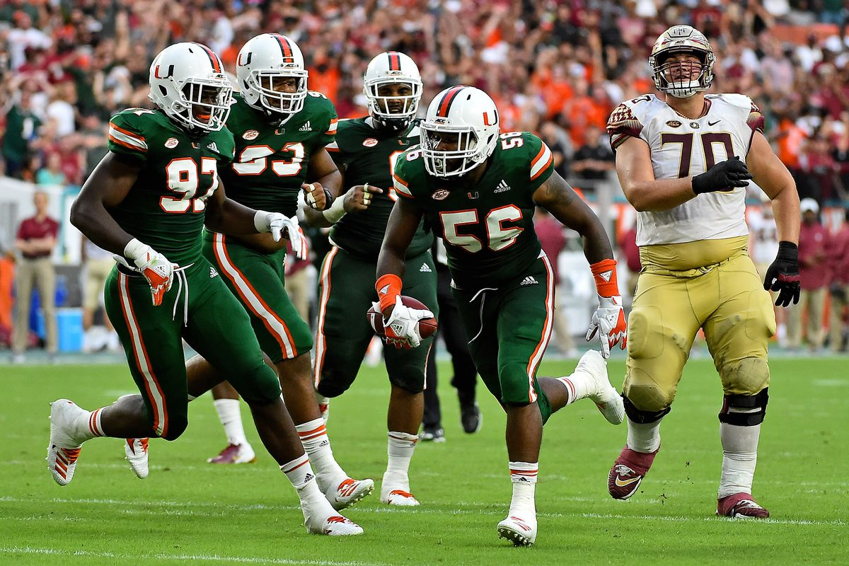 Miami Hurricanes 2019 Position Preview: Defensive Ends