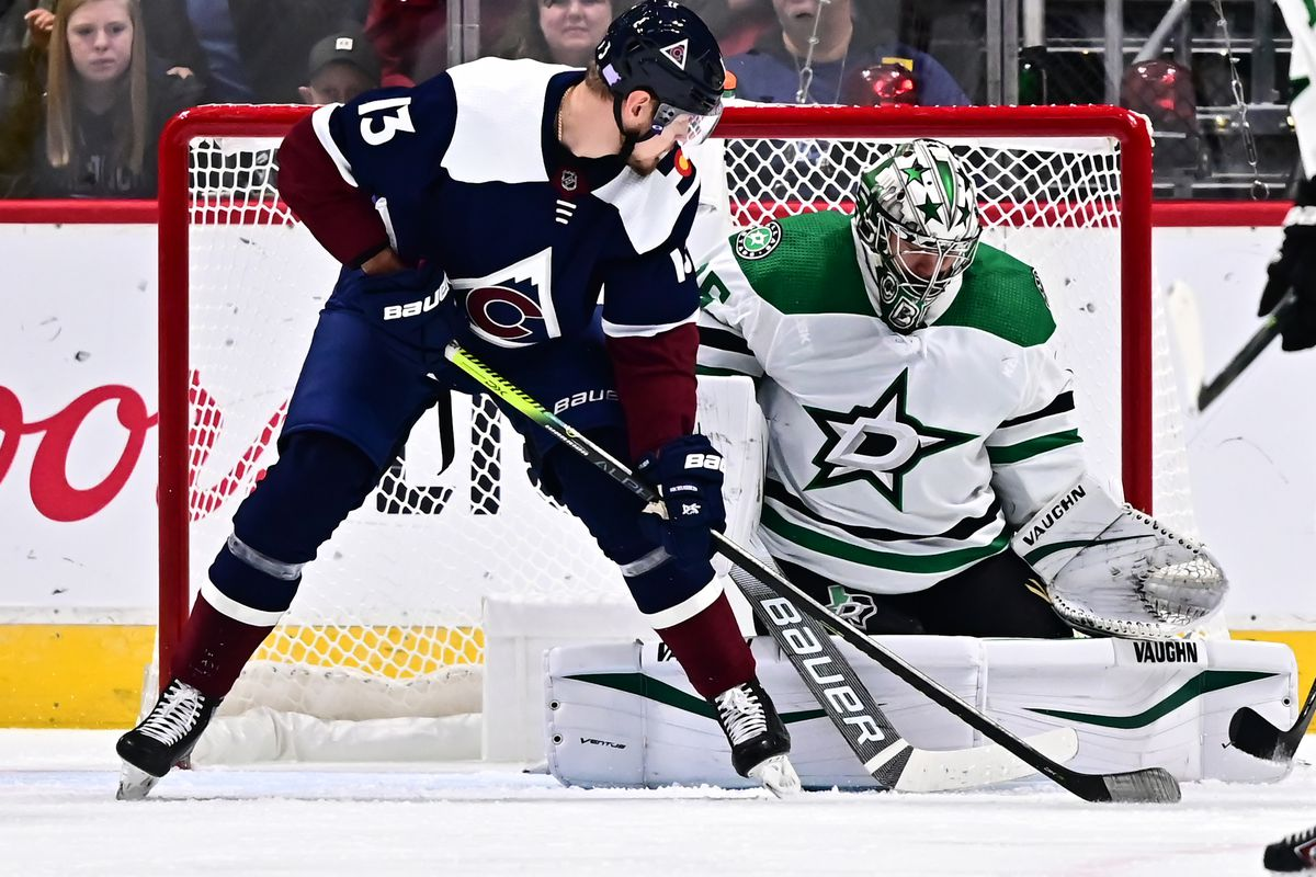 Andrew Blake Five Stars 2 colorado avalanche game day: stars pay a visit on division