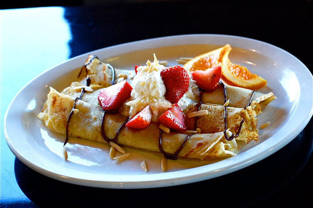 Nutella crepes served at BabyStacks Cafe, expanding to a sixth location and its second Summerlin restaurant.