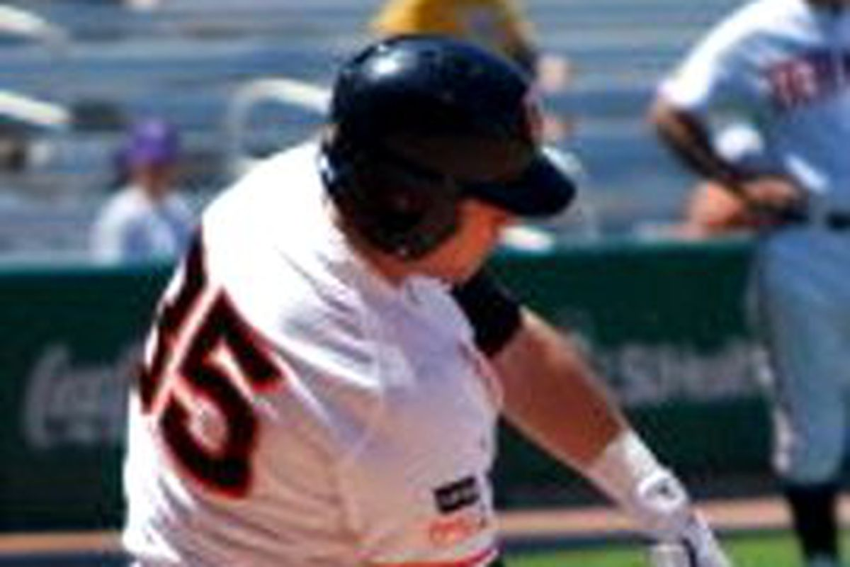 Joey Matthews scored as a pinch runner, and eventually drove in the game winning run as Oregon St. prevailed over UC-Riverside 5-4 in 11 innings.
