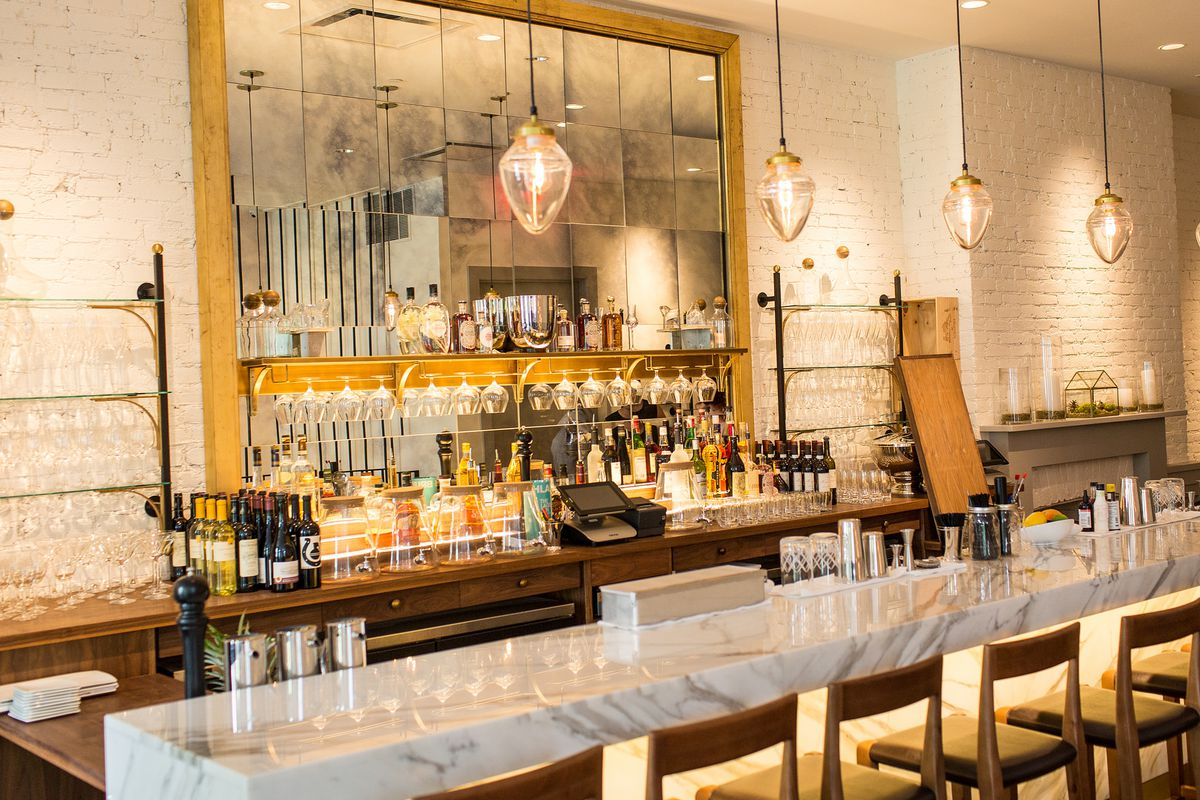 Salon By Sucre's FOH manager and somm Braithe Tidwell is a Meyer/Union Square alum.
