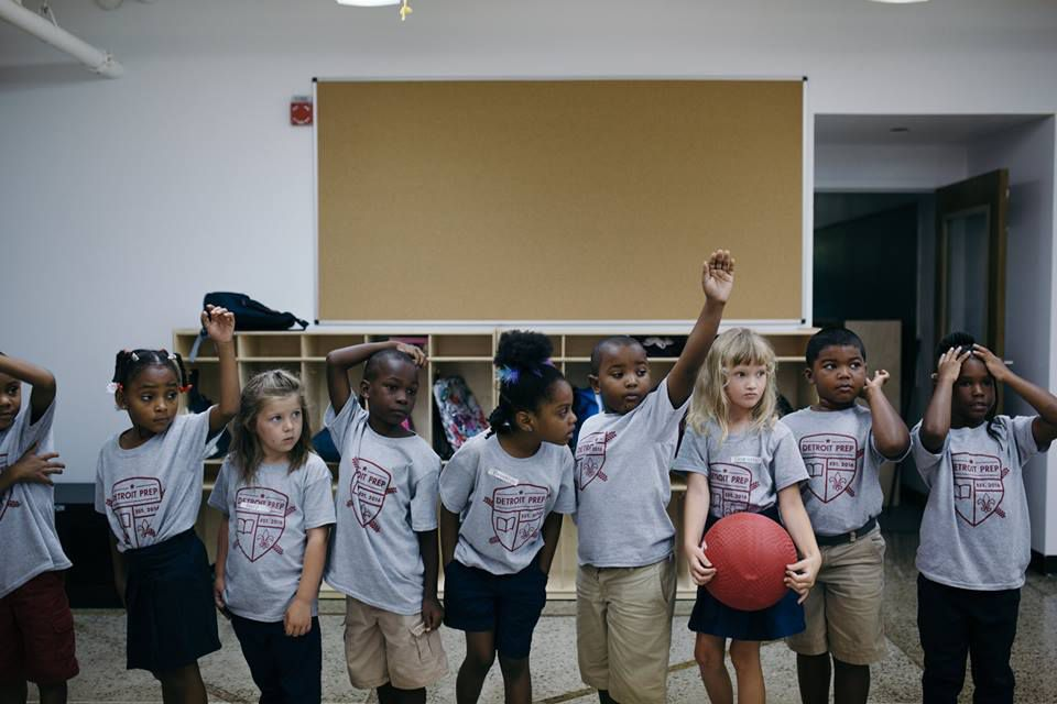 The new Detroit Prep charter school is part of a national movementto diversify charter schools.