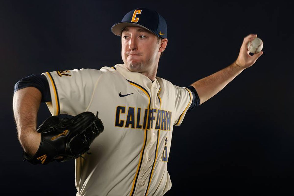 Senior Kyle Porter will take the mound for the Bears this afternoon.