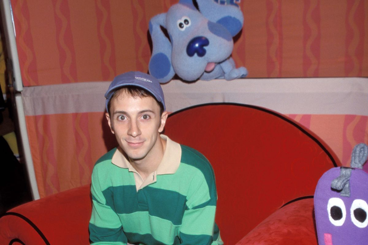 """Steve from """"Blue's Clues"""""""