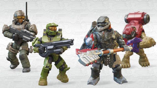 Mega Bloks Halo Infinite characters