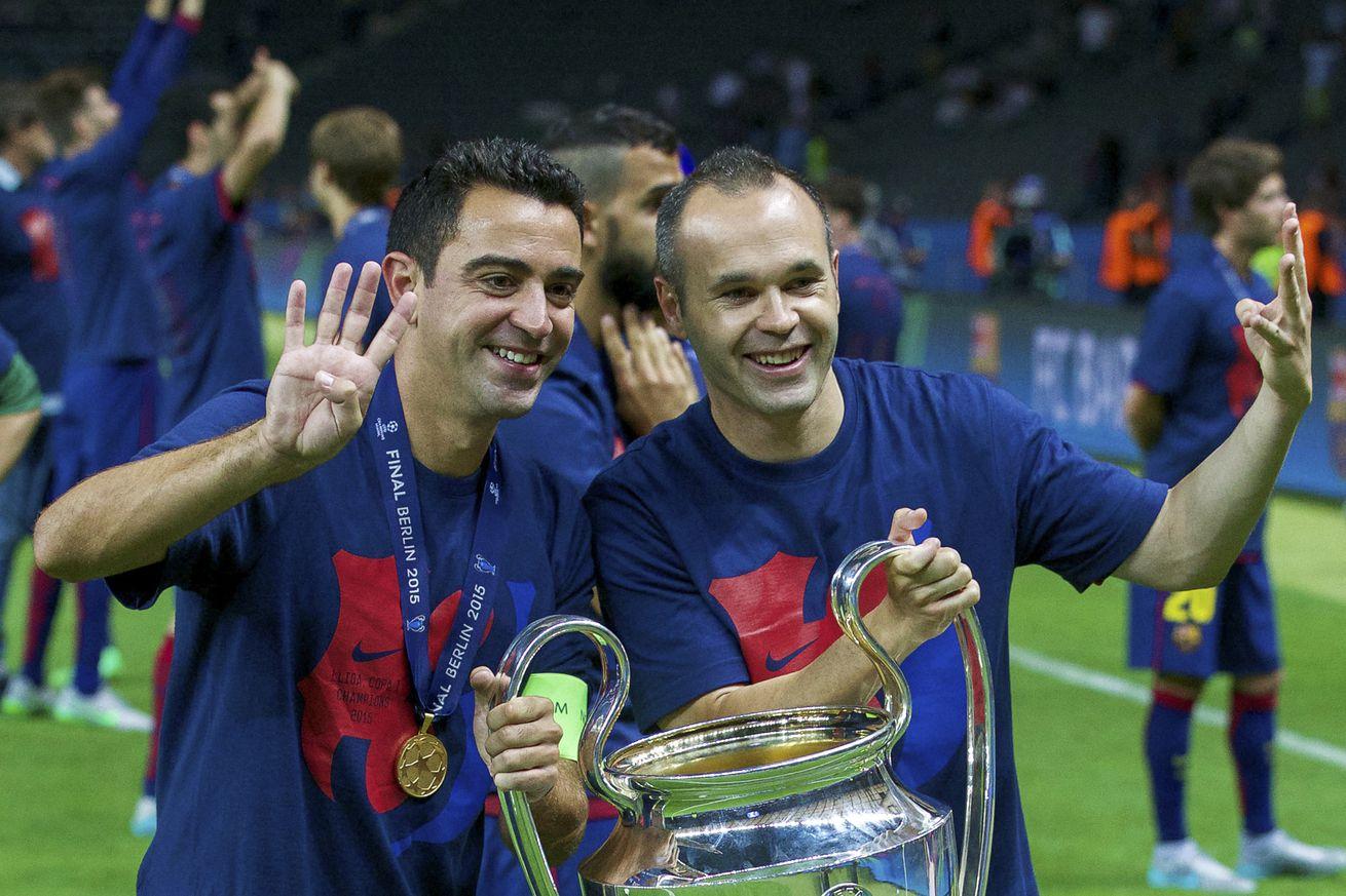 Iniesta confident Xavi is ready to manage Barcelona