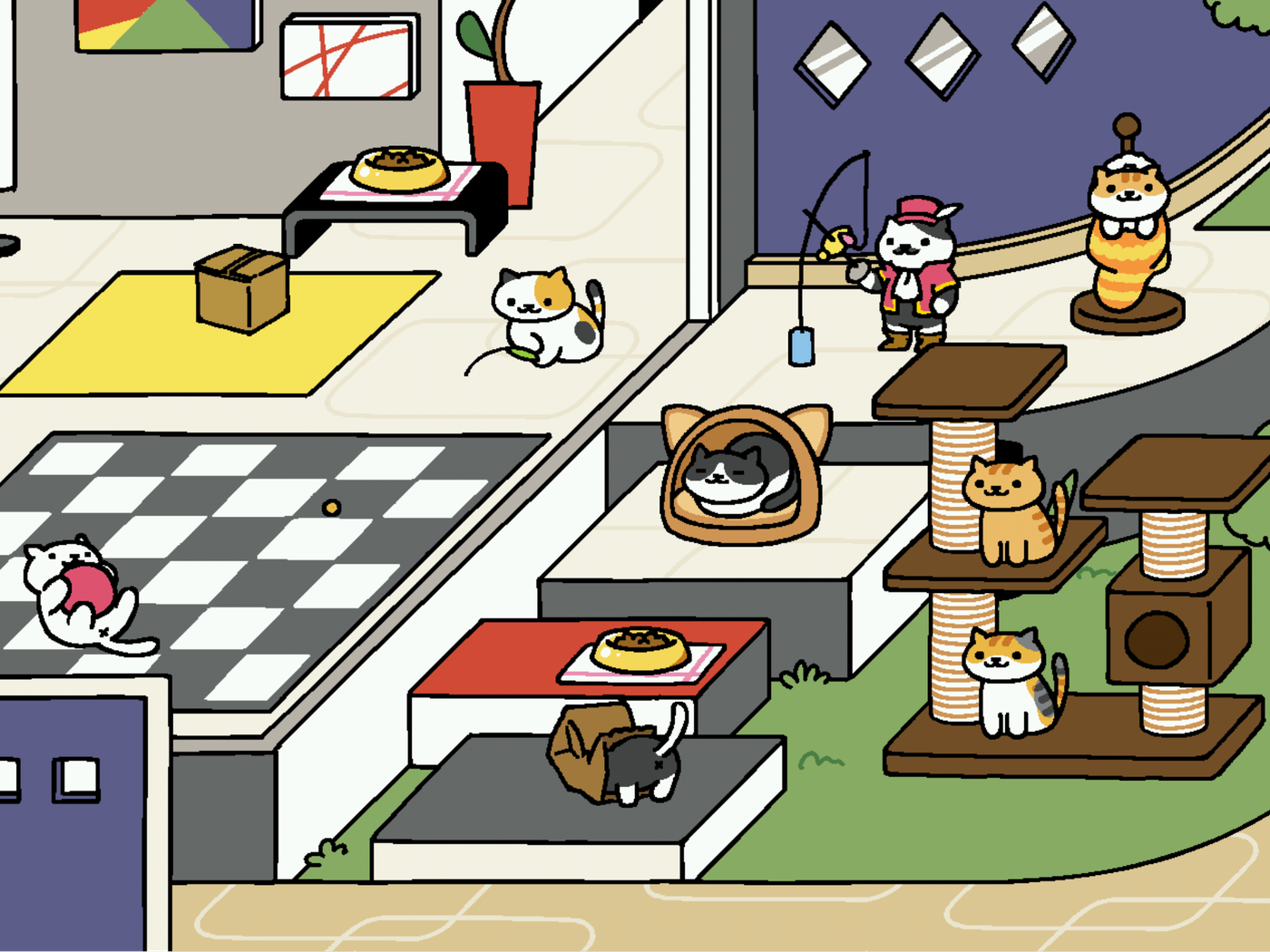 Inside Neko Atsume The Japanese Cat Collecting Game Taking Over