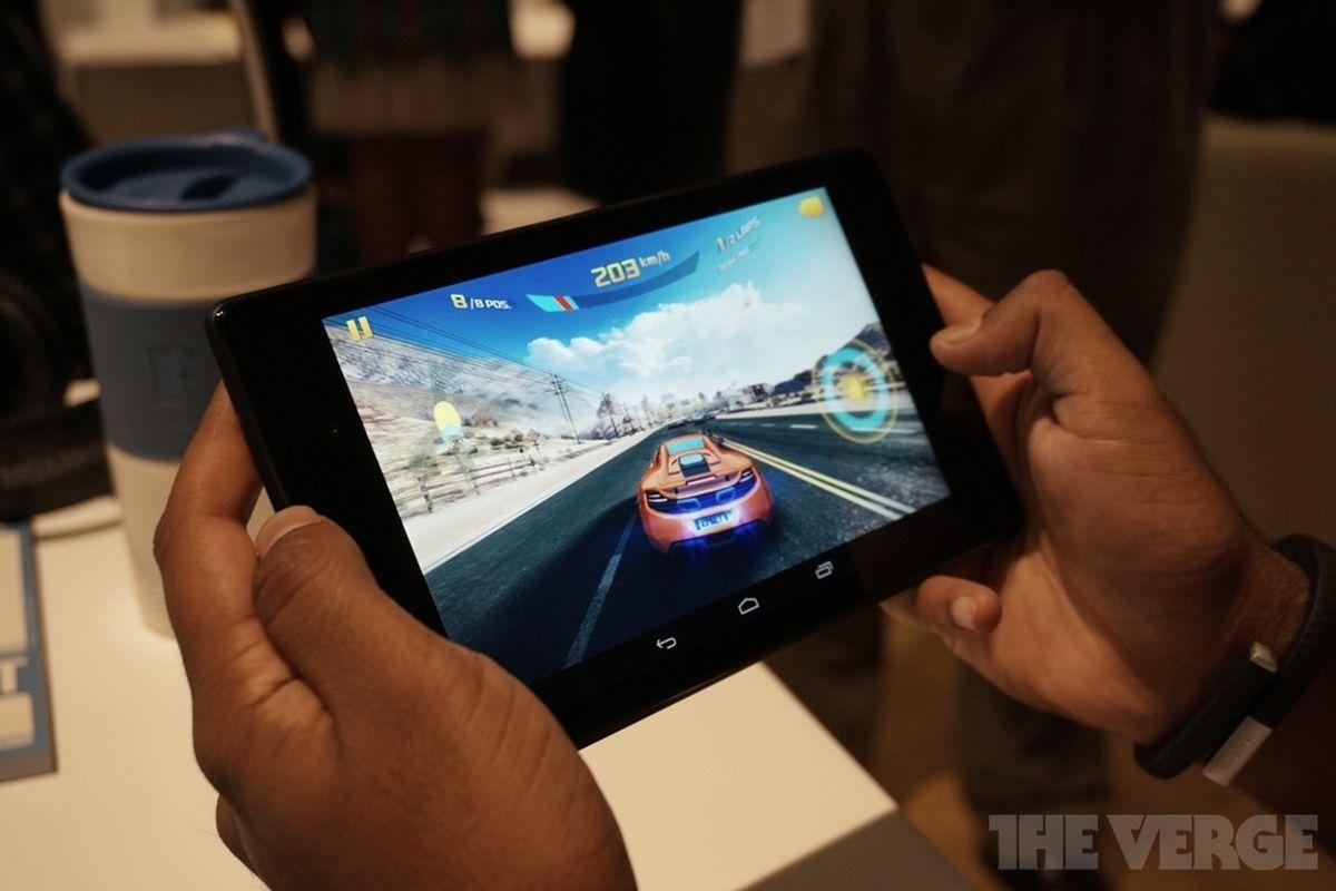 Nexus 7 gaming