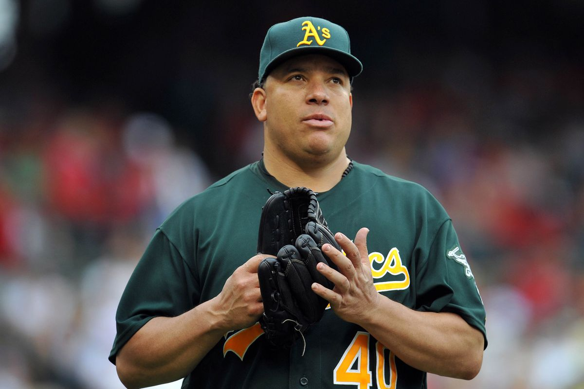 """""""I'm bored. How many more times do I have to get these hitters out?"""" - Bartolo Colon"""
