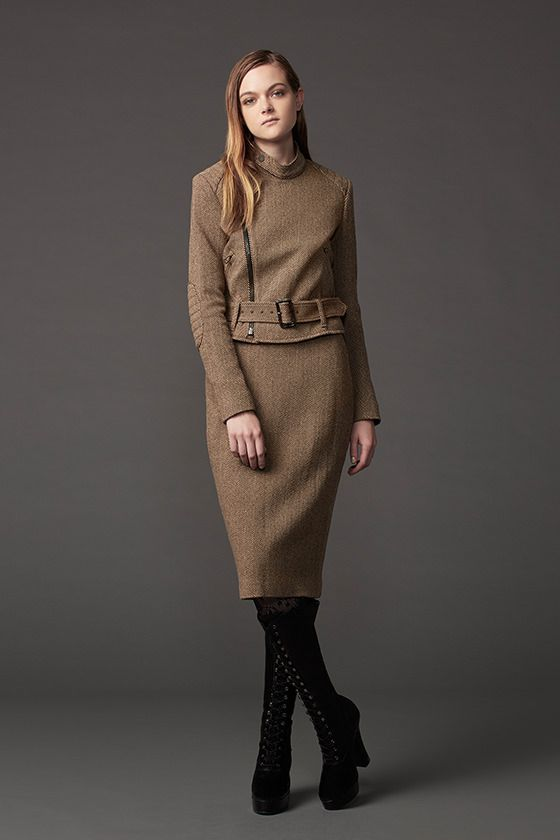 A look from the Uniqlo x Carine Roitfeld collab