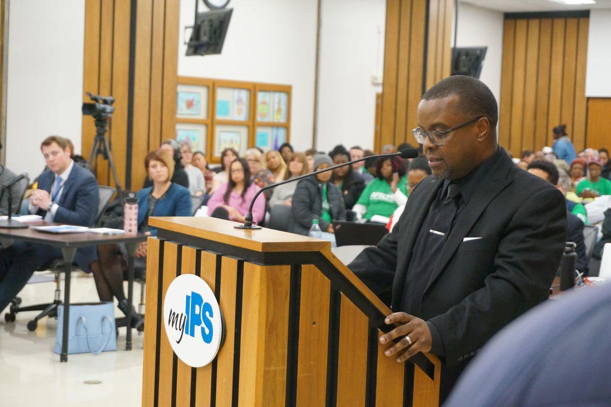 Principal Arthur Hinton has led School 48 for nearly three years.