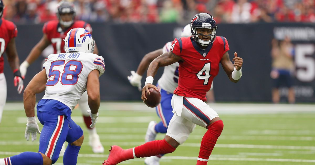 Houston Texans Final Score And Post-Game Recap: Texans 20, Bills 13 - Battle Red...