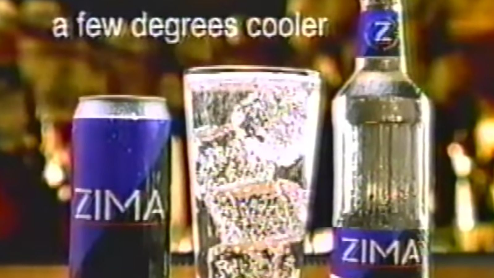 Zima, Notorious Beverage of the '90s, Is Coming Back