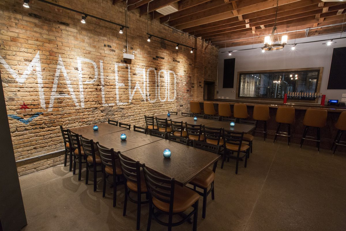 Inside Maplewood Lounge Logan Square S Charming New