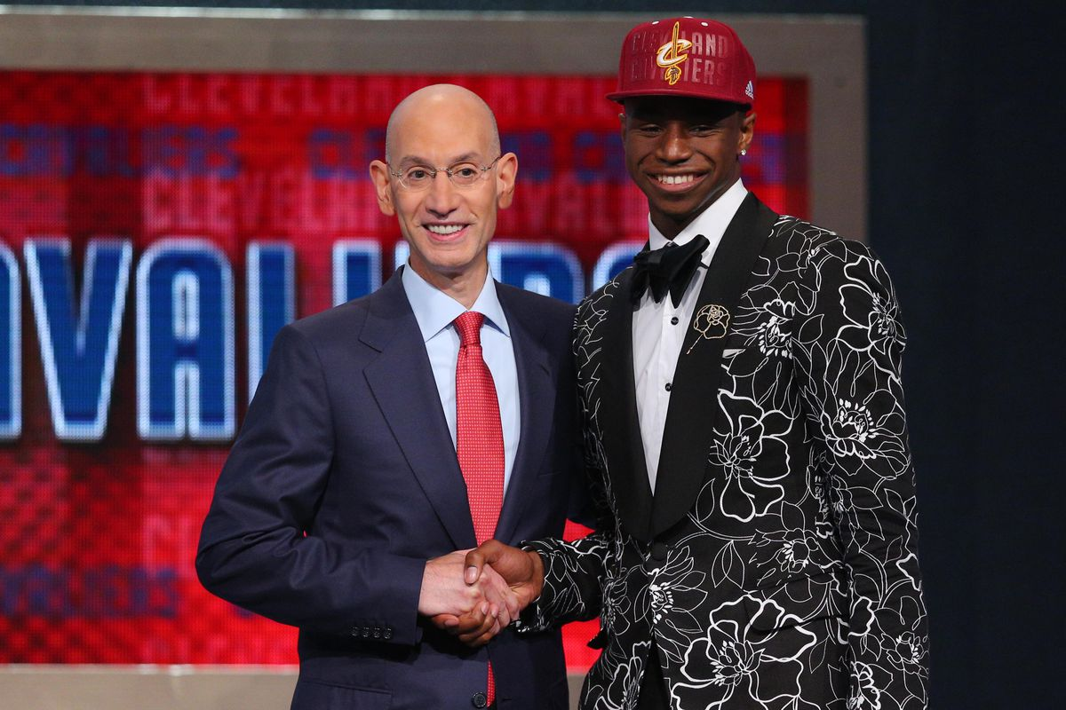 On June 26 Andrew Wiggins was drafted by the Cleveland Cavaliers. It is uncertain if that will be his final rookie destination.