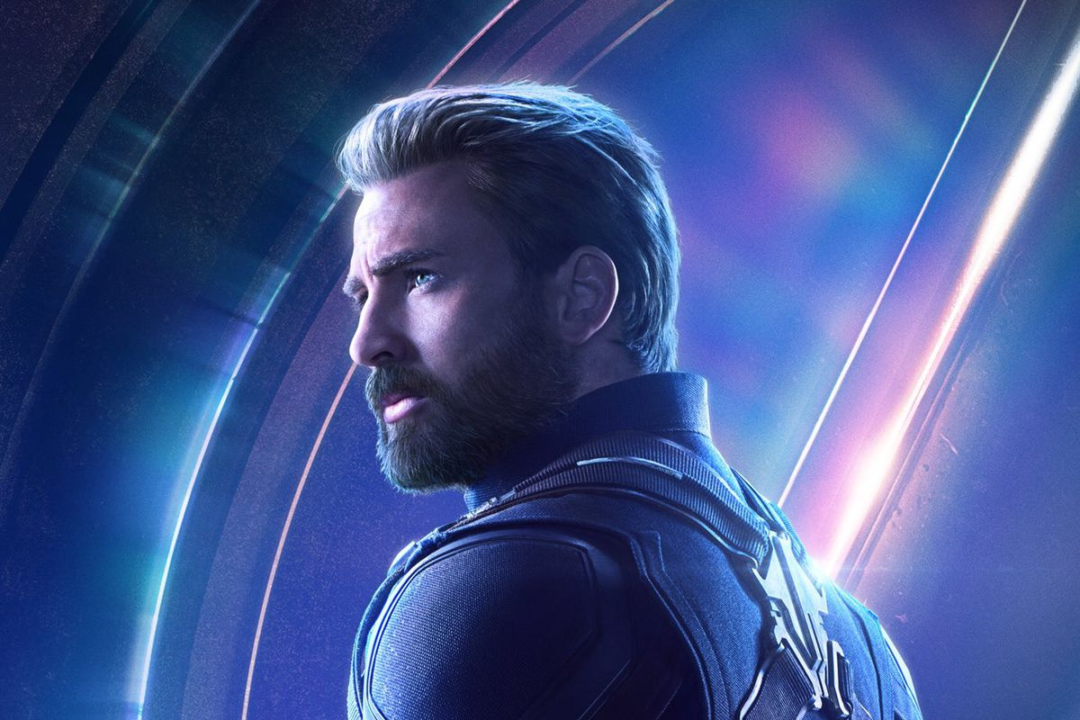 avengers: infinity war poster of captain america is all about his