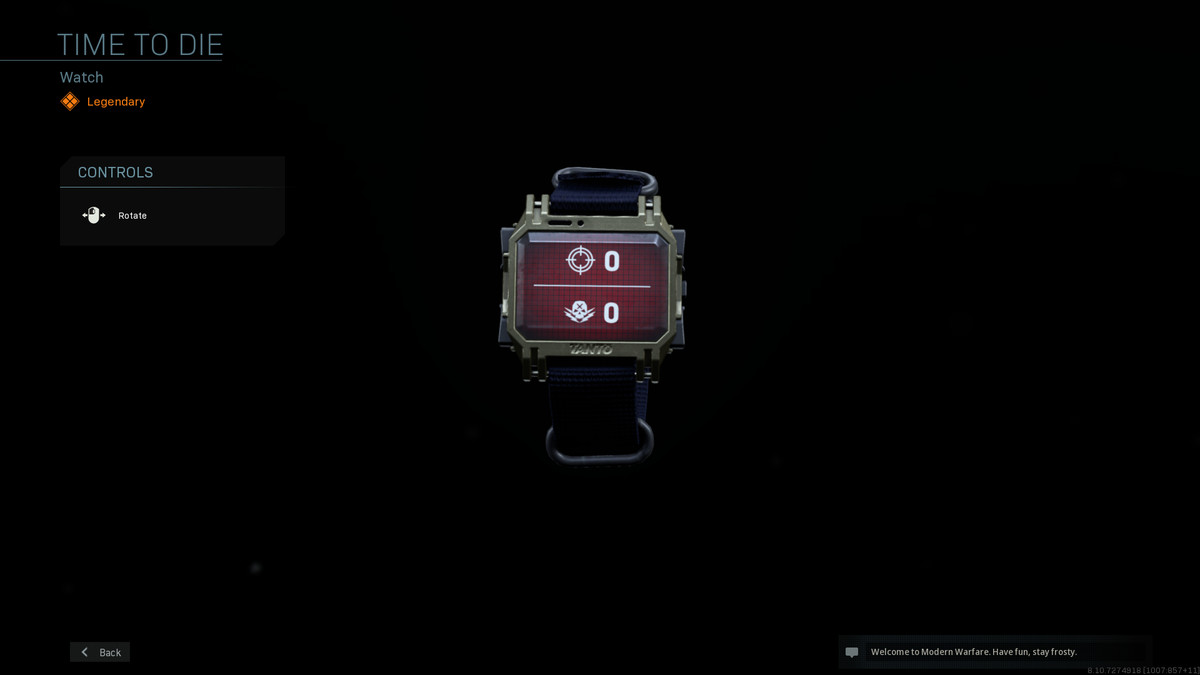 A watch in Modern Warfare that tells players how many kills and deaths they have