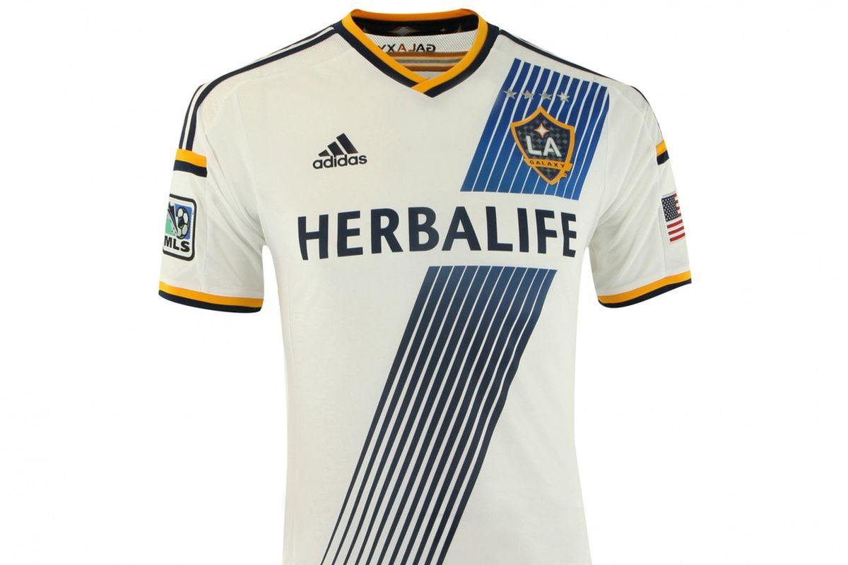 new style 19643 6ce21 LA Galaxy 2014 home kit leaked, again - LAG Confidential