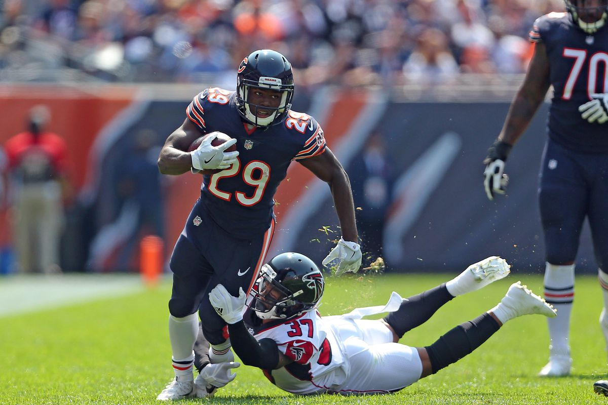 05289203cd1 The Chicago Bears got a great first game out 29 WhitePink Tarik Cohen ...
