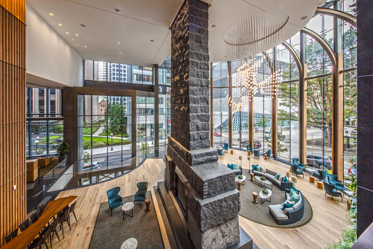 Look Inside Madison Centre Downtown S Newest Office Tower