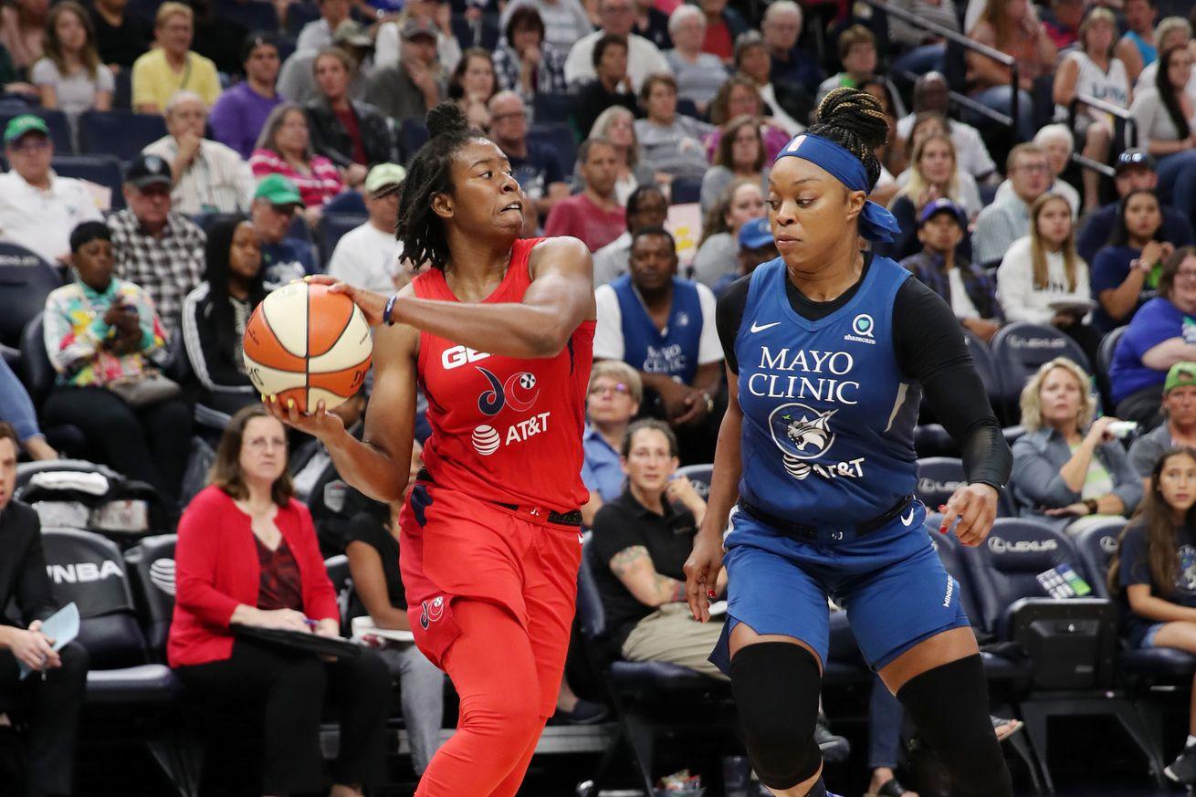 Recap: Mystics beat Lynx, clinch 2019's first playoff spot