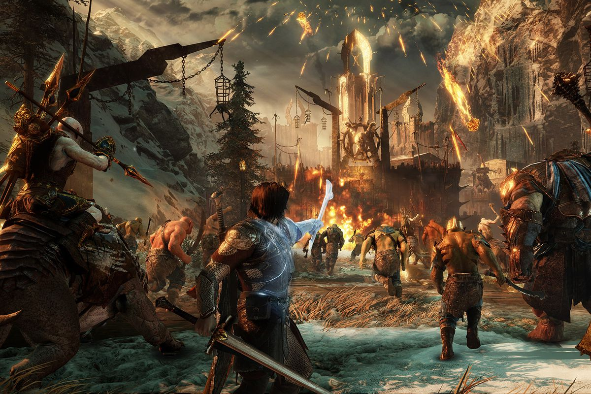 middle earth video games