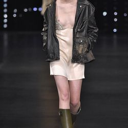A look from Saint Laurent's spring 2016 show.