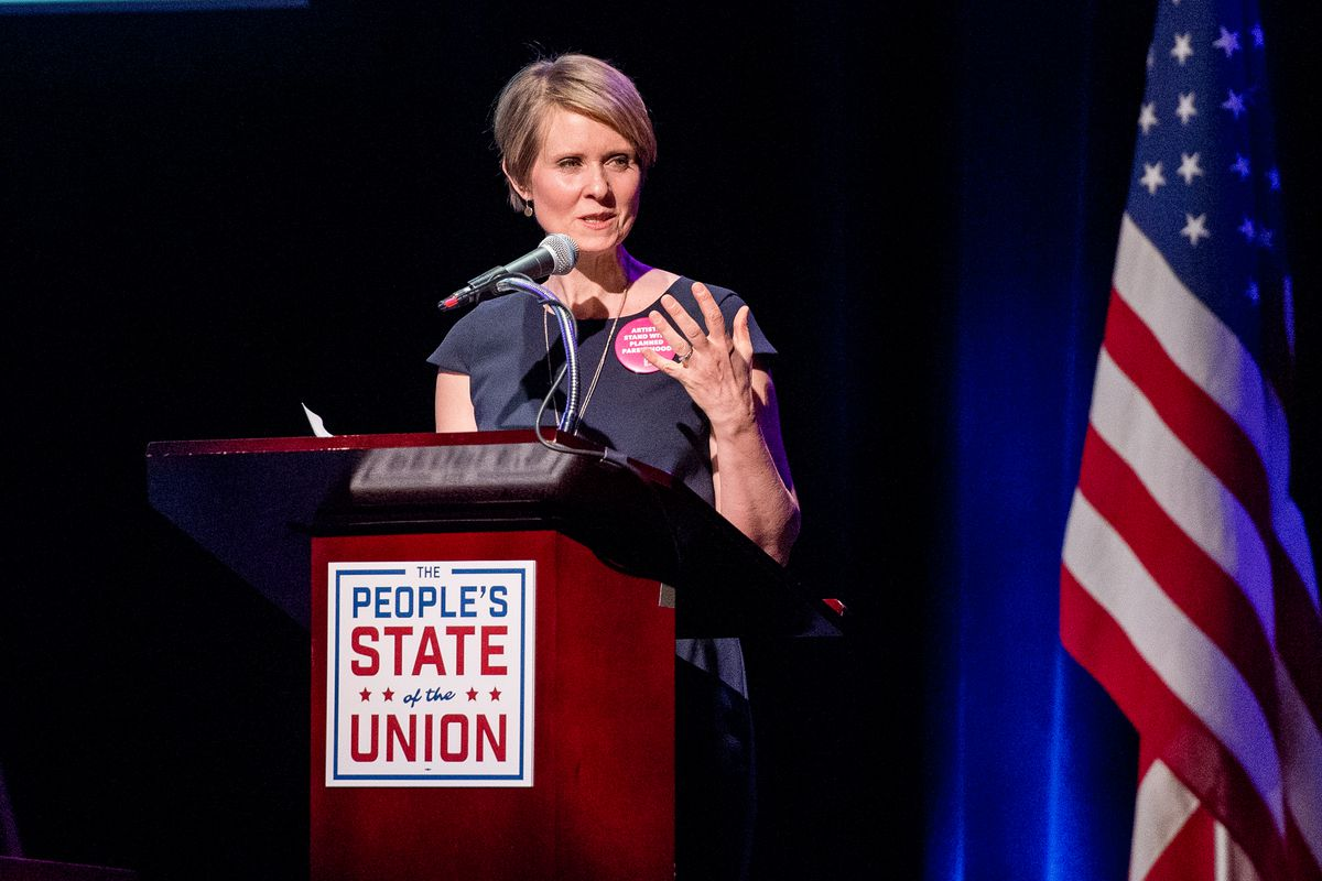 Cynthia Nixon, Sex and the City actress and activist, is challenging incumbent New York Gov. Andrew Cuomo.