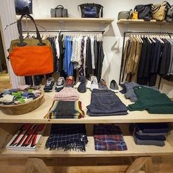 """Allison described the store's inventory as """"great, urban basics"""" and pointed out that pretty much everything is logo-free."""