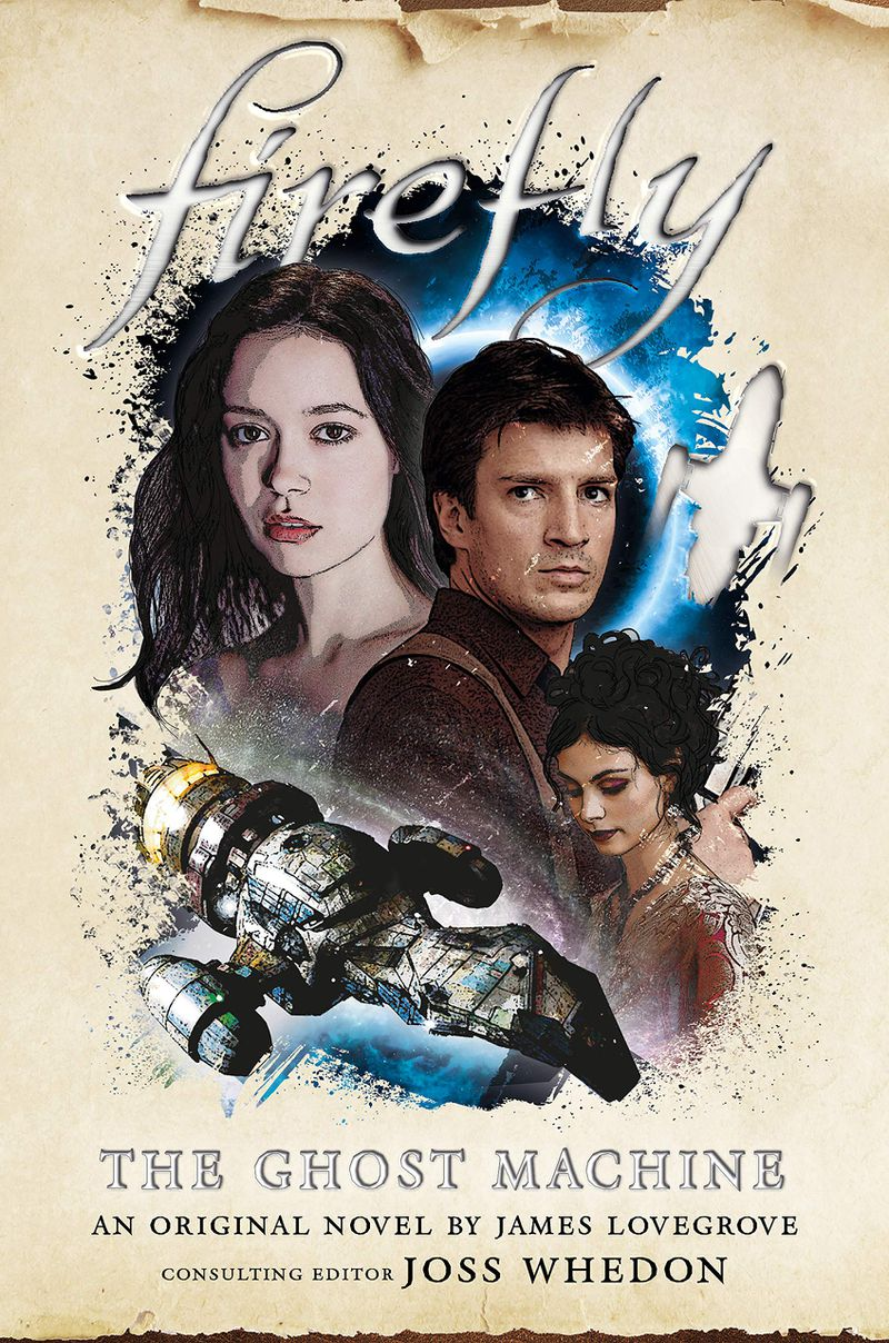 illustrated versions of the firefly characters on the ghost machine cover