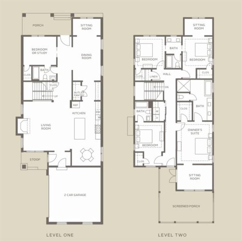 A set of floorplans, with a brown backdrop.