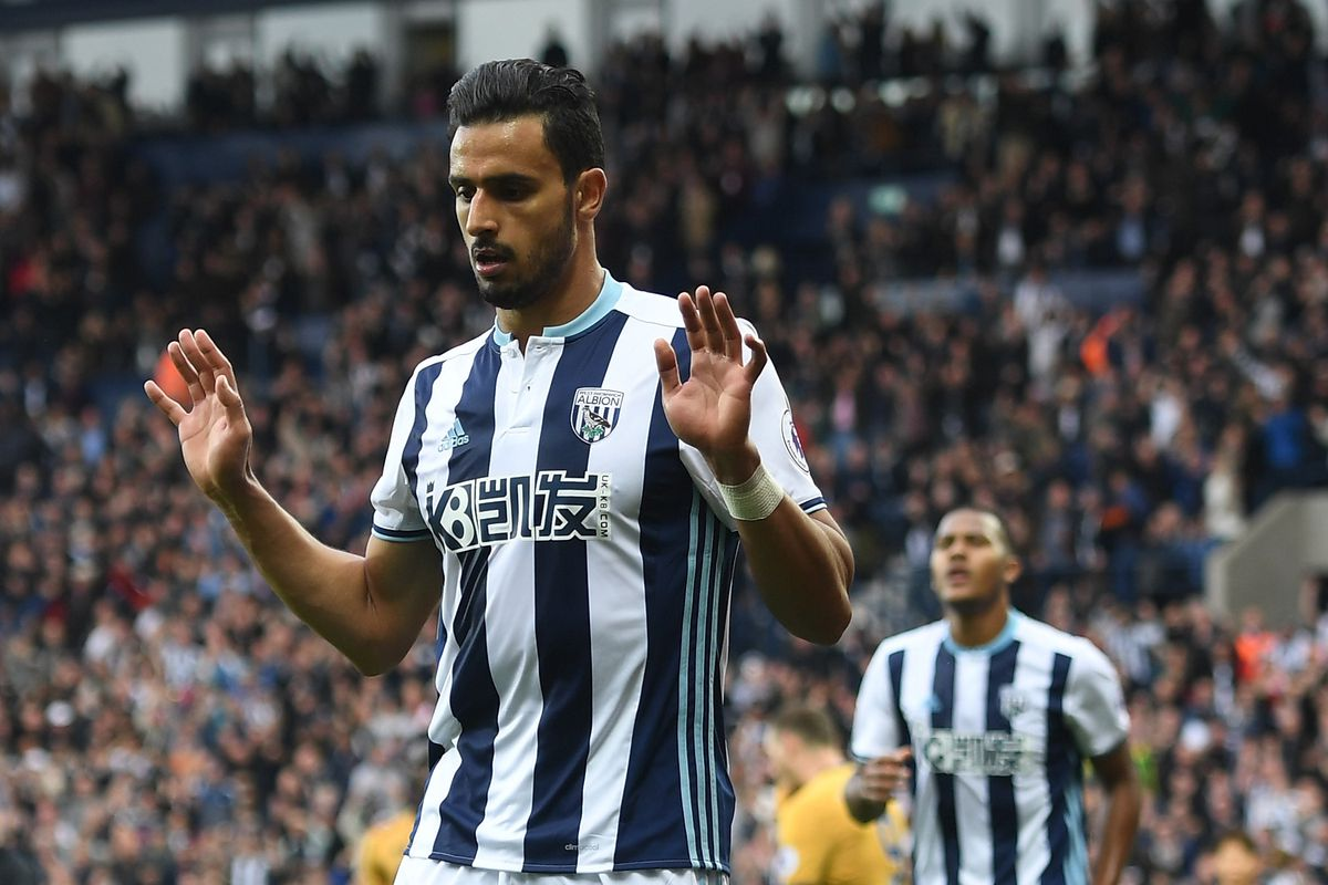 Nacer Chadli has had a brilliant start to his West Brom career.