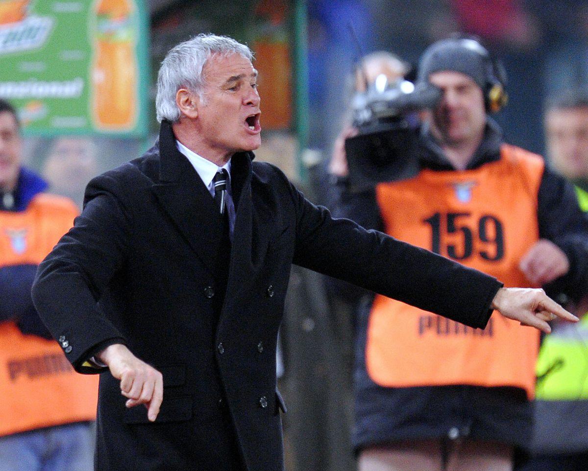 Juventus coach Claudio Ranieri gives ins