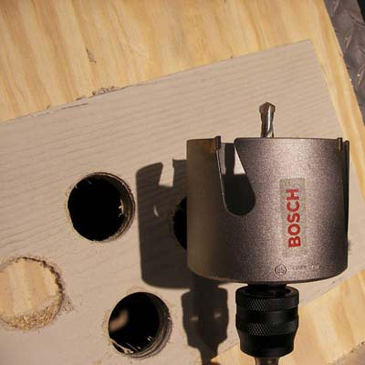 Bosch Carbide Tooth Hole Saw Set