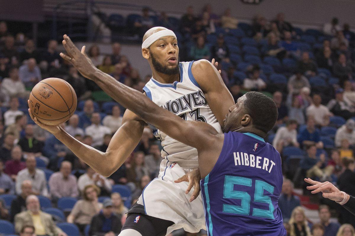 NBA: Charlotte Hornets at Minnesota Timberwolves