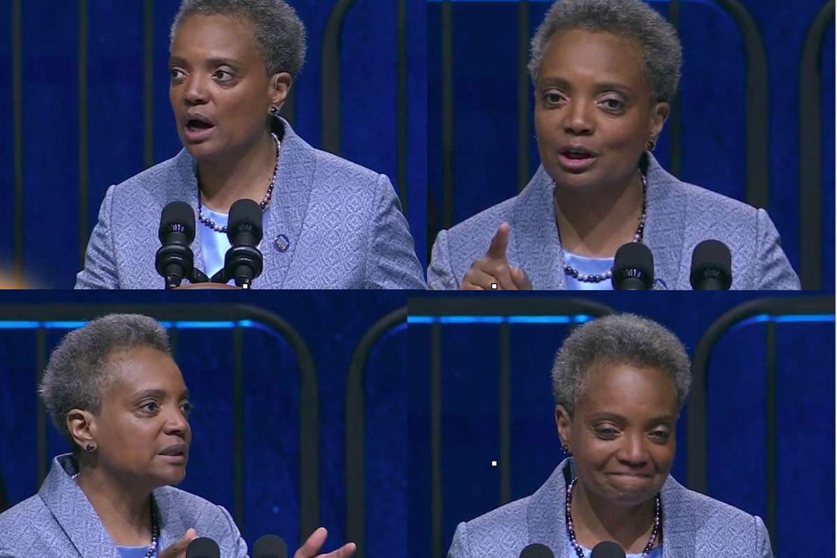 Lori Lightfoot spoke extensively about education during her inaugural address as Chicago's mayor on May 20, 2019.