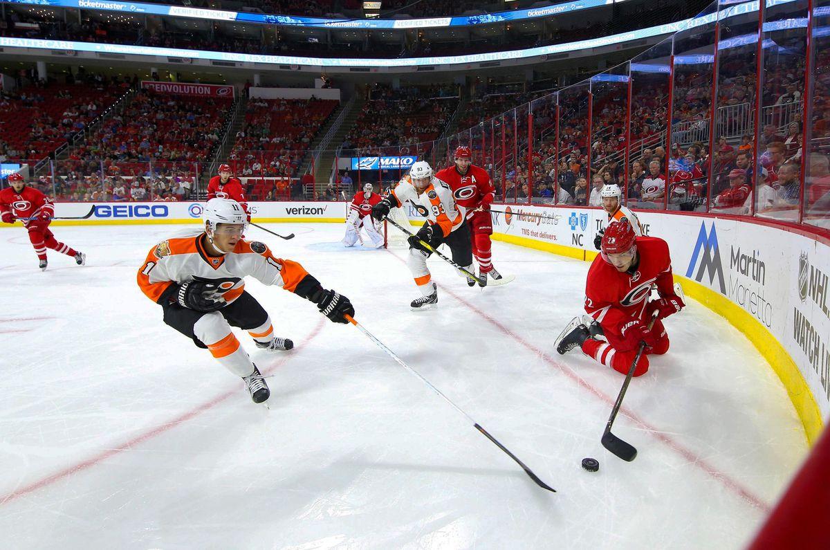 NHL: Philadelphia Flyers at Carolina Hurricanes