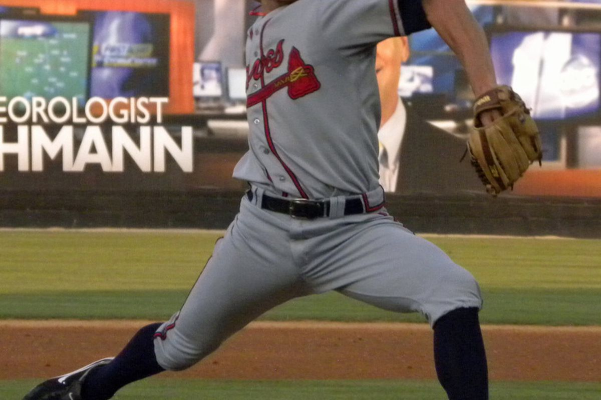 Brandon Beachy was one of the top performers in the Braves organization this week.