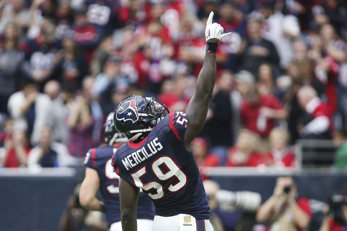 Whitney Mercilus Wins First Career AFC Defensive Player of the
